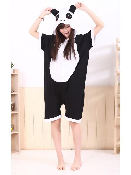 Panda Onesie Short Sleeves Pajamas