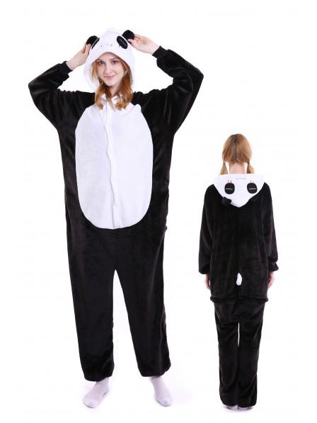 Pandas Onesie Pajamas Flannel