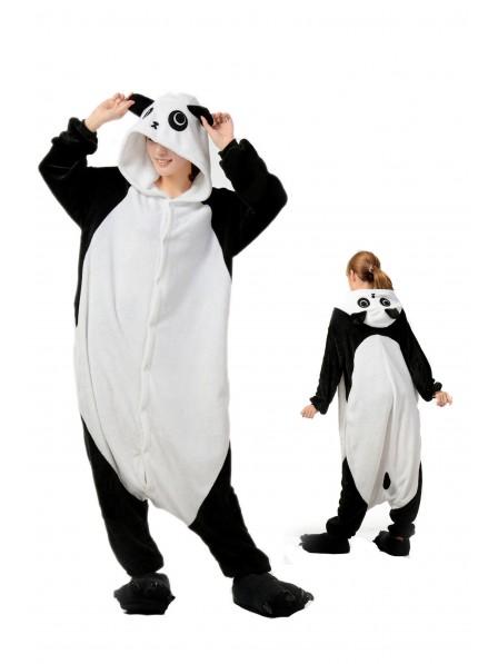 Panda Onesie Pajamas Flannel
