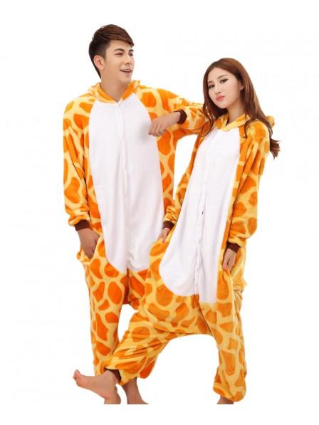Giraffe Onesie Pajamas Flannel