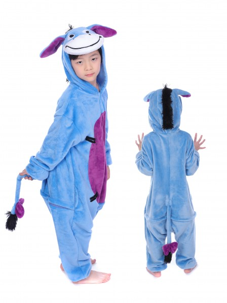 Donkey Onesie Pajamas for Kids
