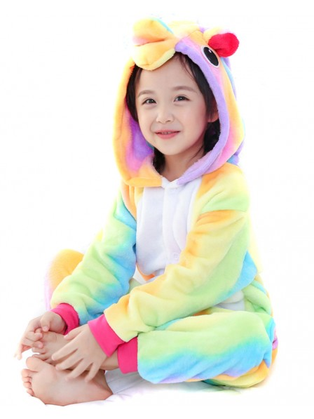 Rainbow Unicorn Onesie Pajamas for Kids