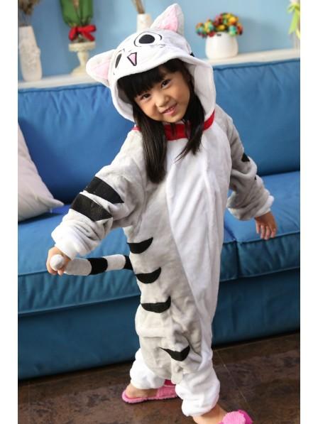 Cheese Cat Onesie Pajamas for Kids