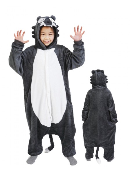 Wolf Onesie Pajamas for Kids