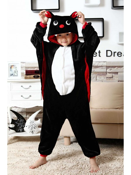 Bat Onesie Pajamas for Kids