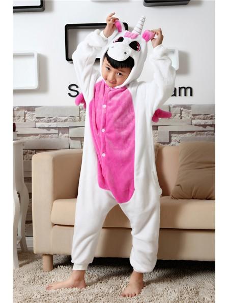 Rose Unicorn Onesie Pajamas for Kids