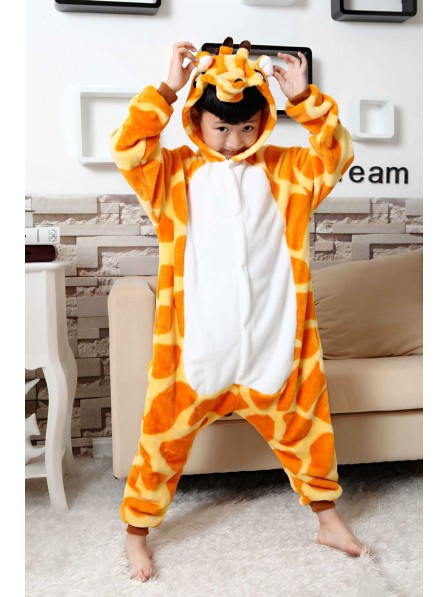 Giraffe Onesie Pajamas for Kids