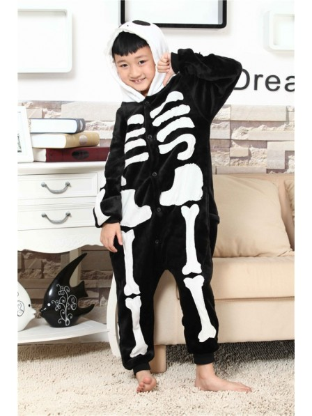 Skeleton Onesie Pajamas for Kids