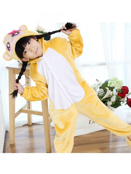 Girls Monkey Onesie Pajamas for Kids
