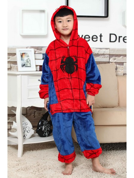 Spider-Man Onesie Pajamas for Kids