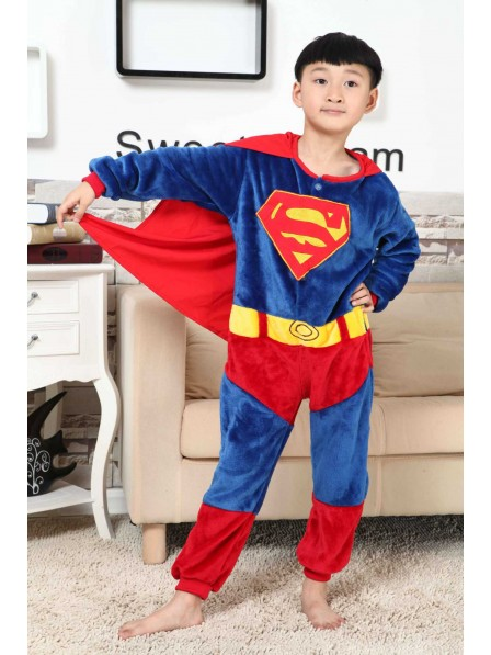 Superman Onesie Pajamas for Kids