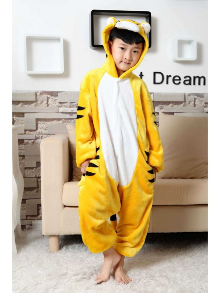 Tiger Onesie Pajamas for Kids