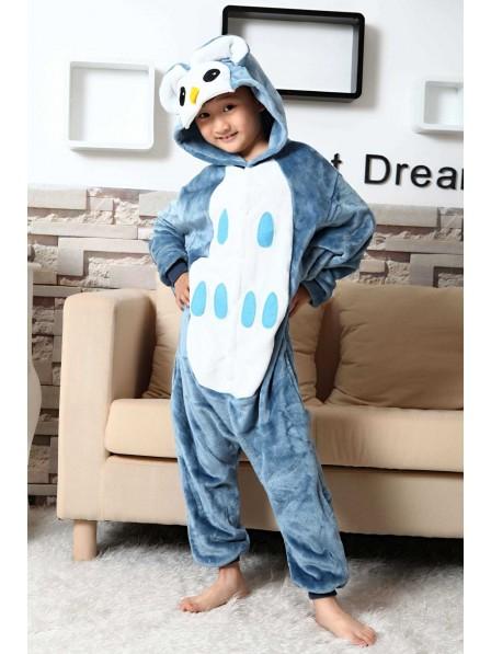 Owl Onesie Pajamas for Kids