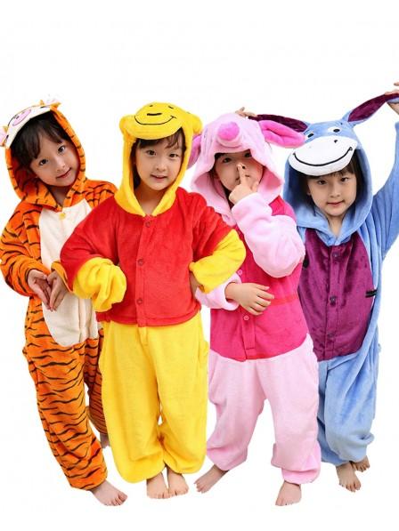 Kids Winnie the Pooh Onesies & Tigger & Piglet & Eeyore Pajamas