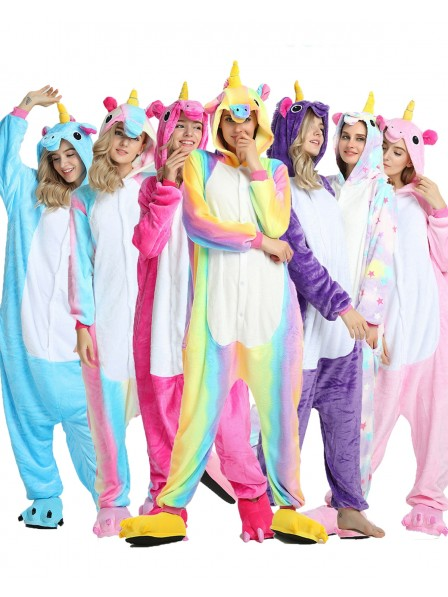 Unicorn Onesie Pajamas for Adult Animal Onesies