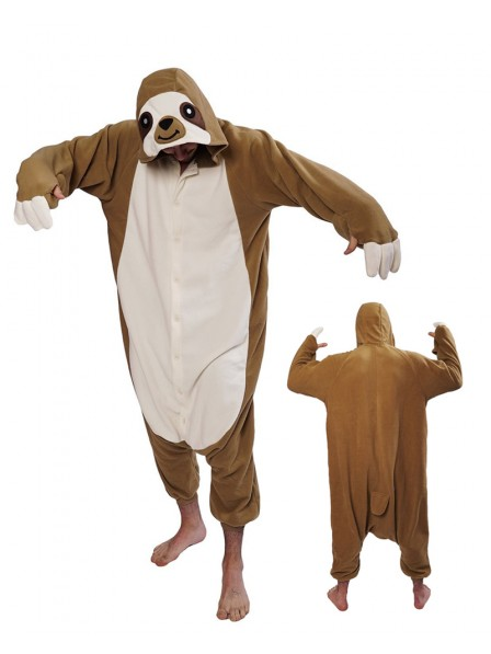 Sloth Onesie Pajamas Costumes