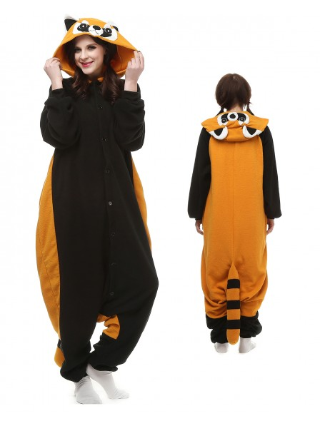 Red Panda Onesie Pajamas Polar Fleece