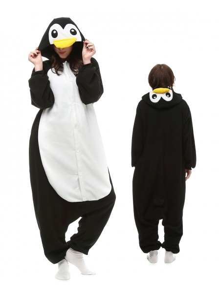 Penguin Onesie Pajamas Polar Fleece