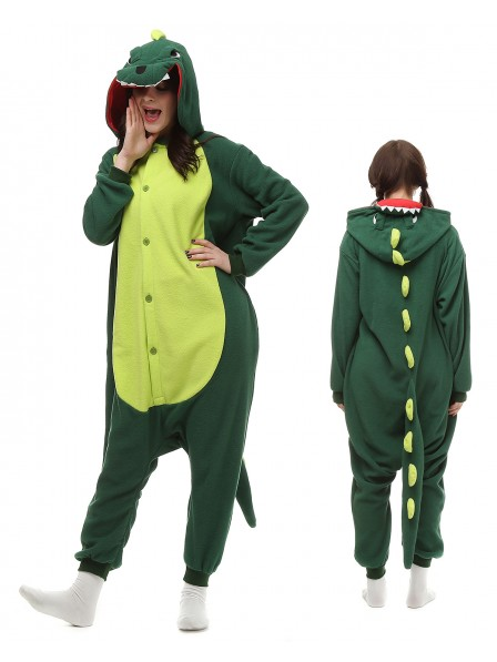 Dinosaur Onesie Pajamas Polar Fleece