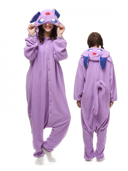 Purple Monster Onesie Pajamas Polar Fleece