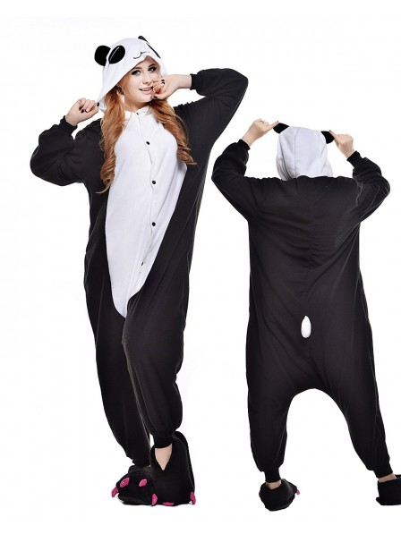Pandas Onesie Pajamas Polar Fleece