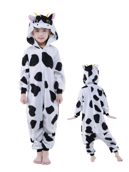 Cow Onesie Kids Polar Fleece