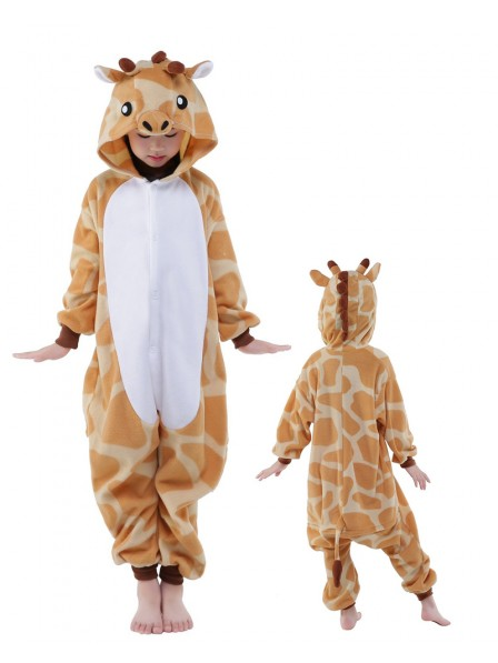 Giraffe Onesie Kids Polar Fleece