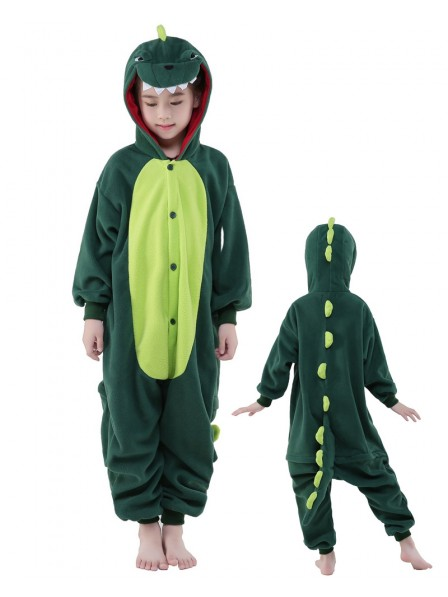 Dinosaur Onesie Kids Polar Fleece