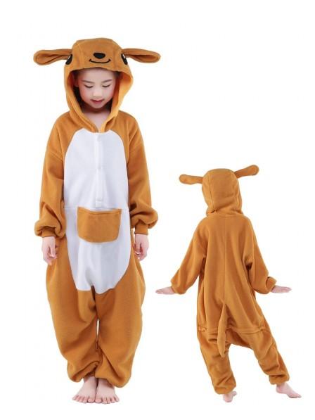 Kangaroo Onesie Kids Polar Fleece
