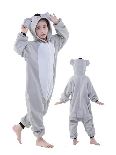 Koala Onesie Kids Polar Fleece