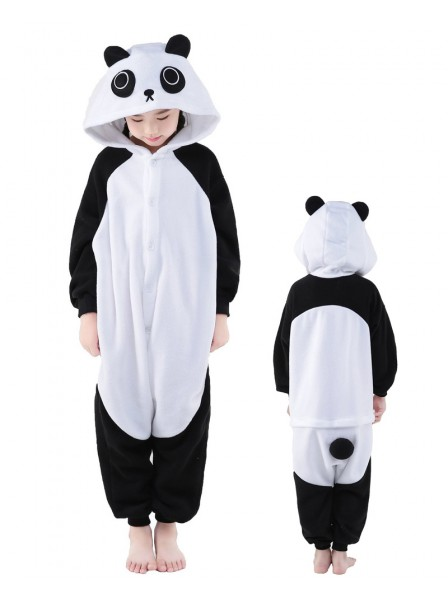 Panda Onesie Kids Polar Fleece