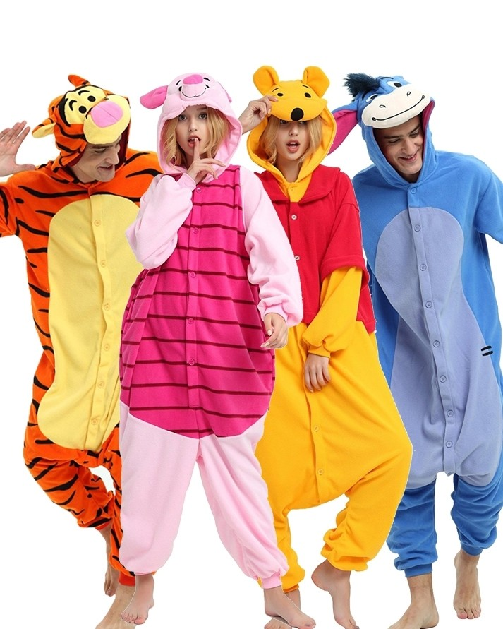 ... Kids Winnie the Pooh Onesies   Tigger   Piglet   Eeyore Pajamas ... 00301eeb1