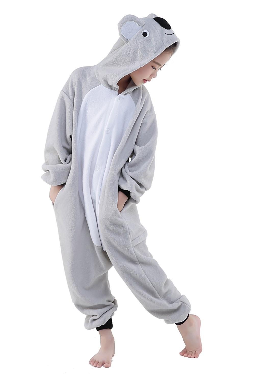 Koala Onesie Kids Kigurumi Polar Fleece For Kids
